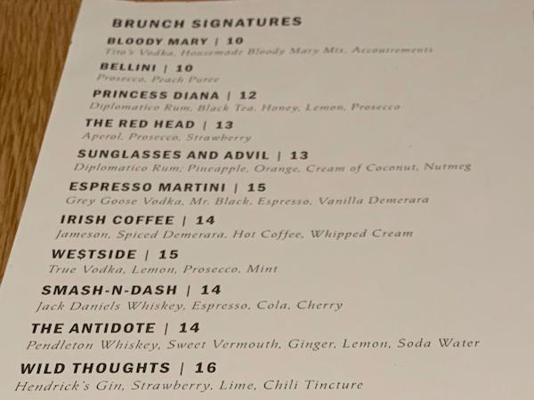 Asset Restaurant Brunch Cocktails