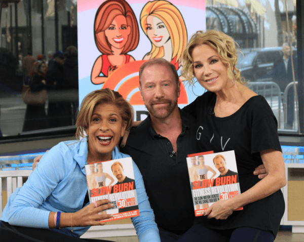 Fred with Kathie and Hoda
