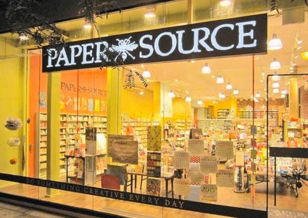 Paper Source UWS