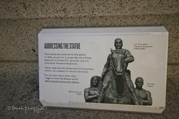 Theodore Roosevelt Plaque AMNH