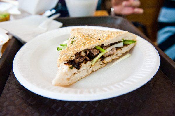 Vanessa's Dumpling House Sandwich