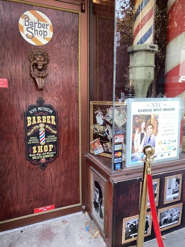 barber shop museum