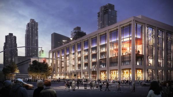 David Geffen Hall New Exterior