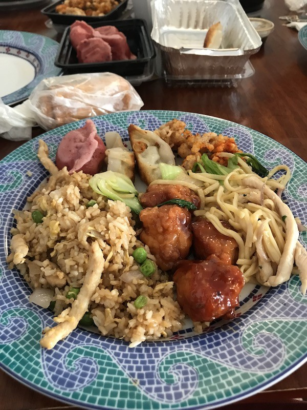 General Tso's Chicken and Chicken Fried Rice