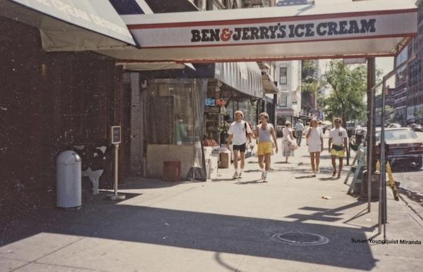 Ben & Jerry's 1980's NYC