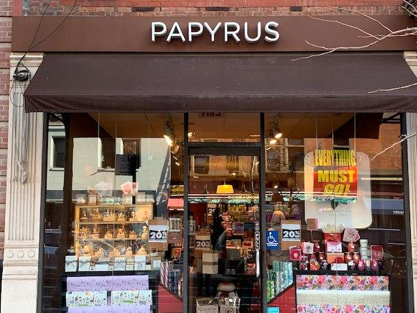 Papyrus Closing