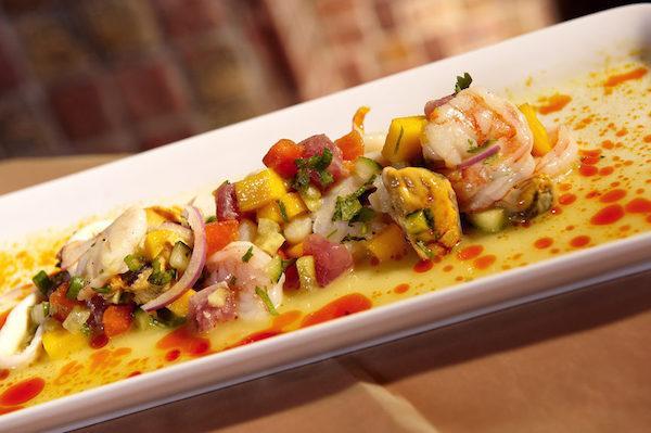 shrimp ceviche calle ocho