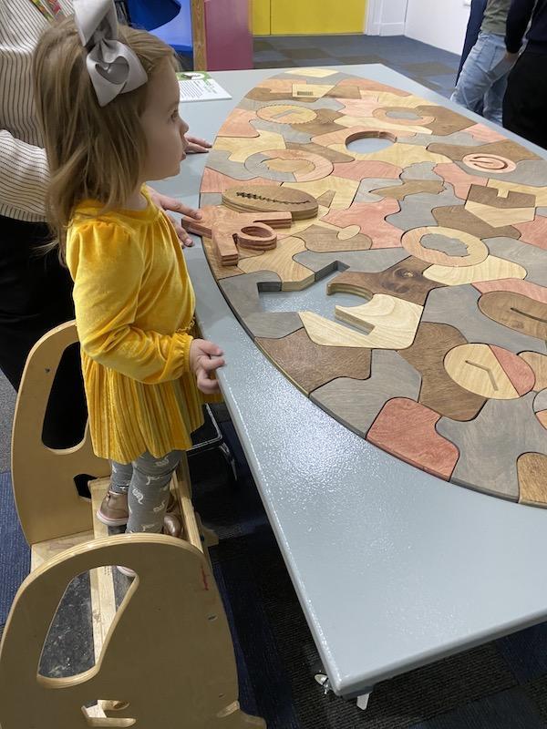 massive tabletop puzzle