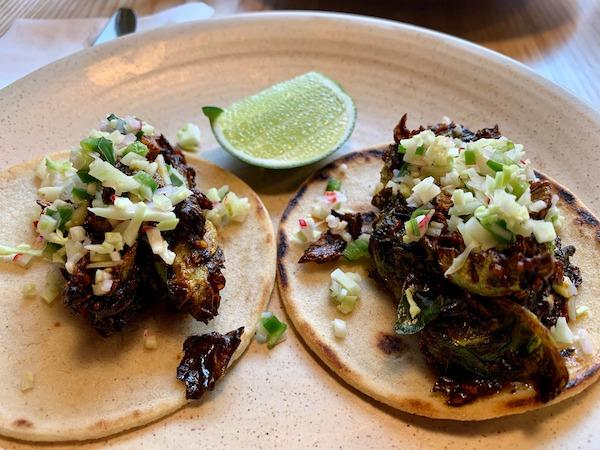 Brussel Sprout Tacos