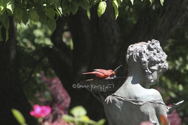 Central Park Conservancy Statue