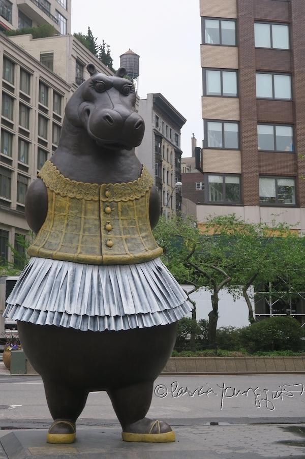 Dante Park Hippo