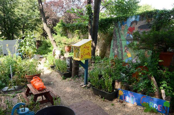 Hattie Carthan Garden