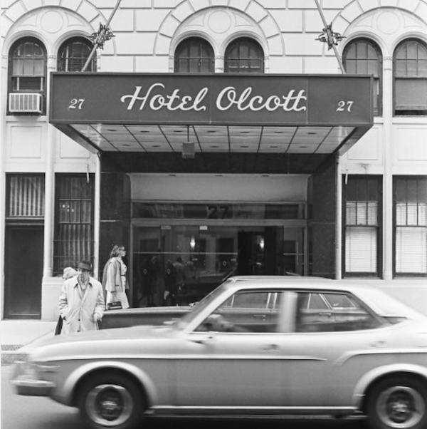 72nd Street Hotel Olcott 1970s