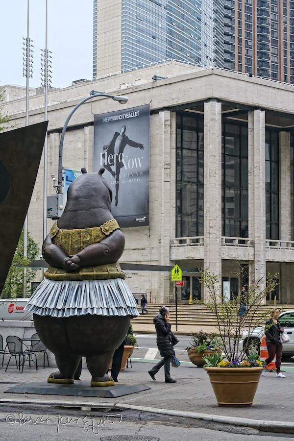 Lincoln Center Hippo