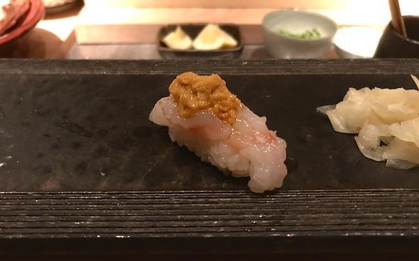 Shrimp with Uni