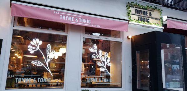 Thyme and Tonic Exterior