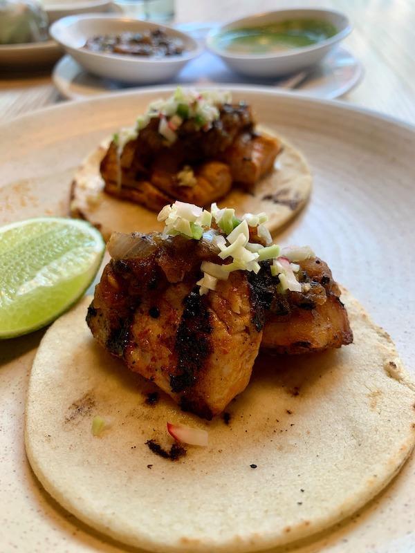 Thyme and Tonic Mahi Mahi Tacos