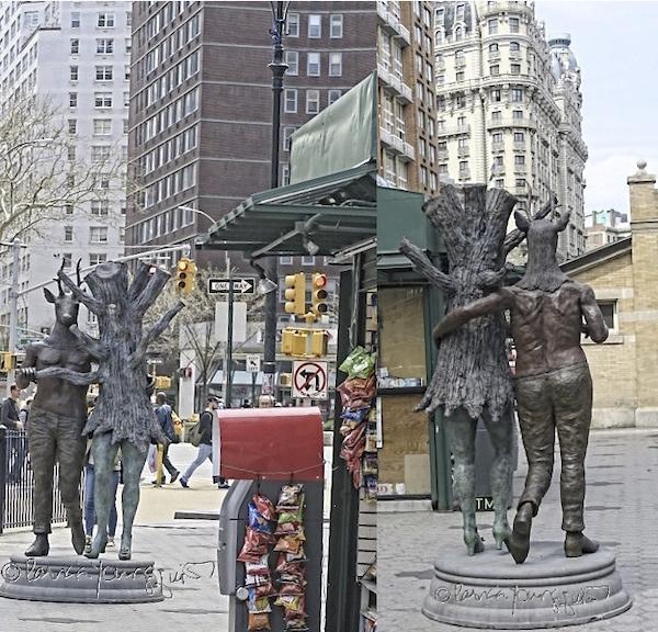 Verdi Square Statue