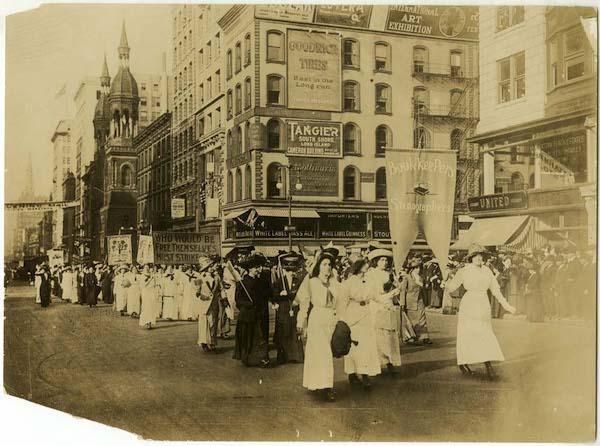 Women's March NY History