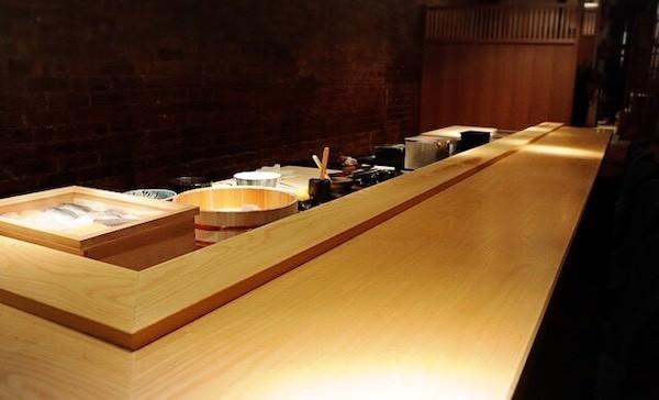 interior takeda sushi