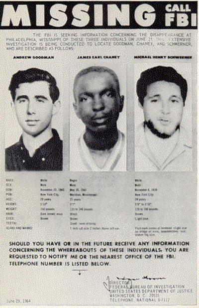 Andrew Goodman Missing Persons