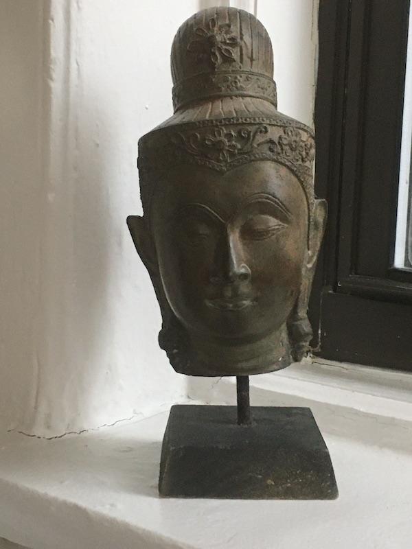 Buddha head from Phnom Penh