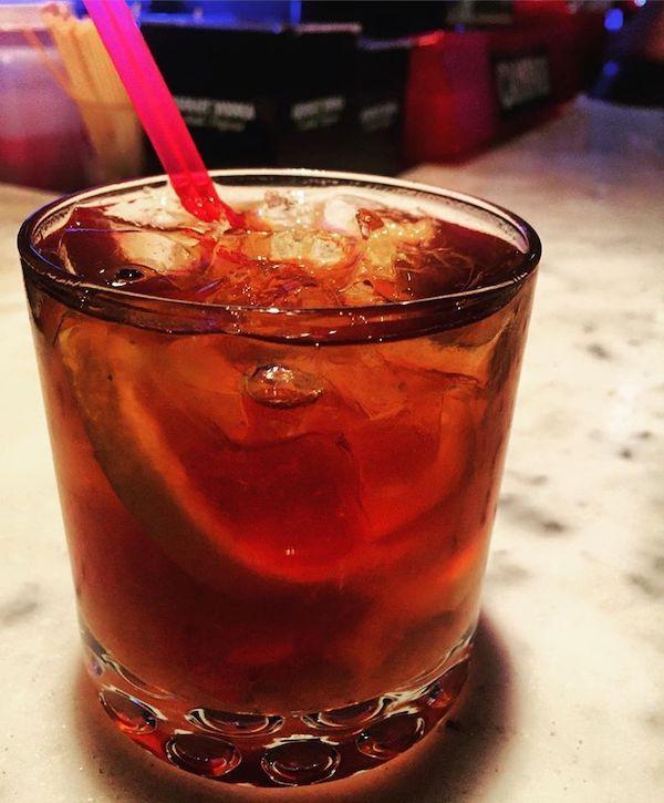 Maple Old Fashioned at Scarlatto