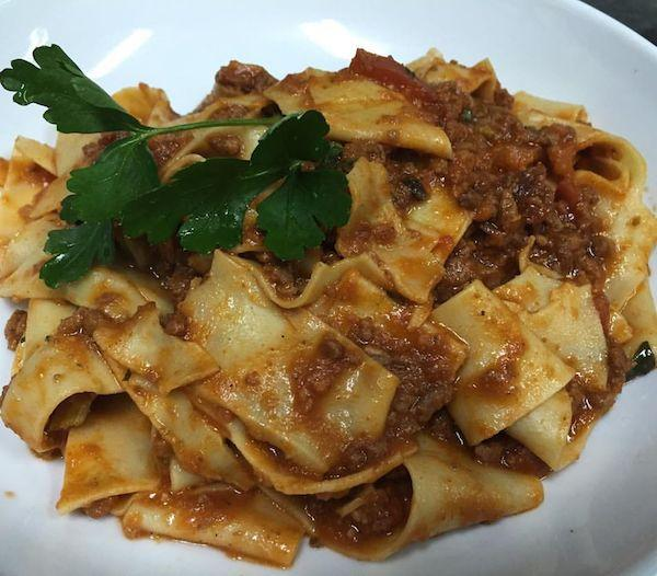 Pappardelle alla Bolognese