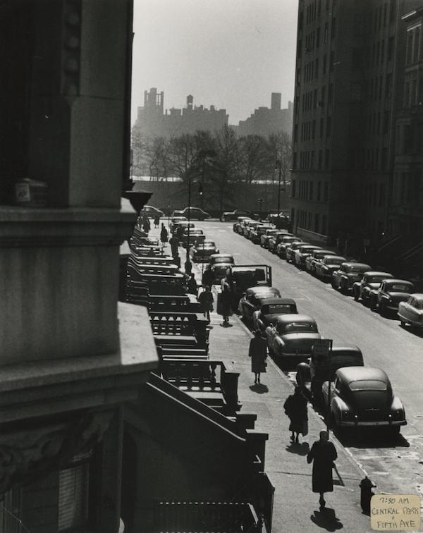 Ruth Orkin Cars in Sun