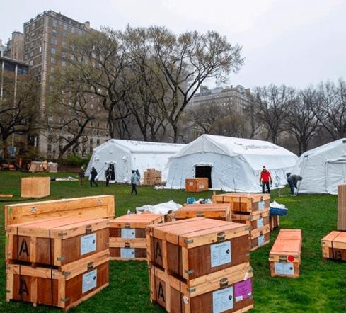 Samaritans Purse Hospital Central Park