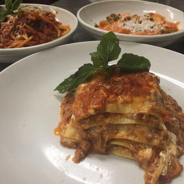 Scarlatto's classic homemade meat lasagna