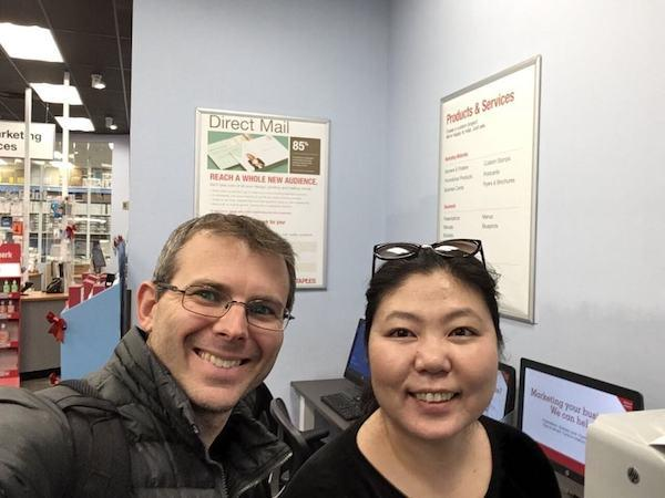 Sung-Ae and Jeff