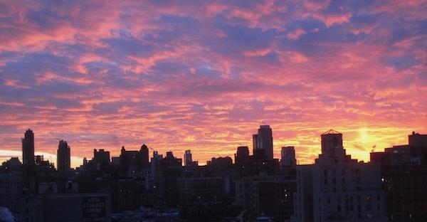 UWS Sunset