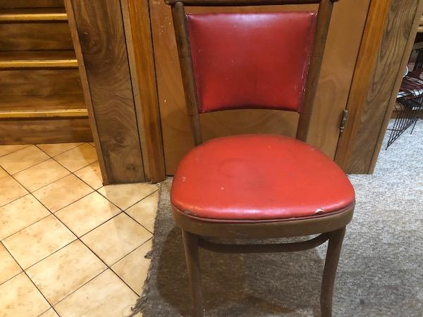 Chair From Cherry's Restaurant