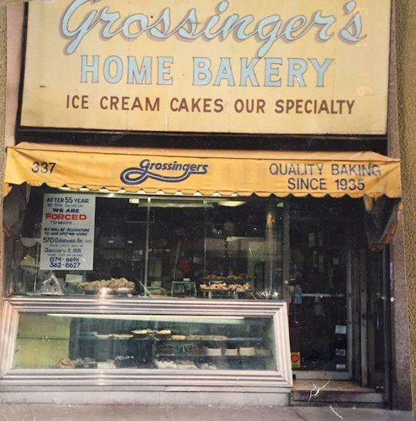 Grossinger's Bakery 76th and Columbus