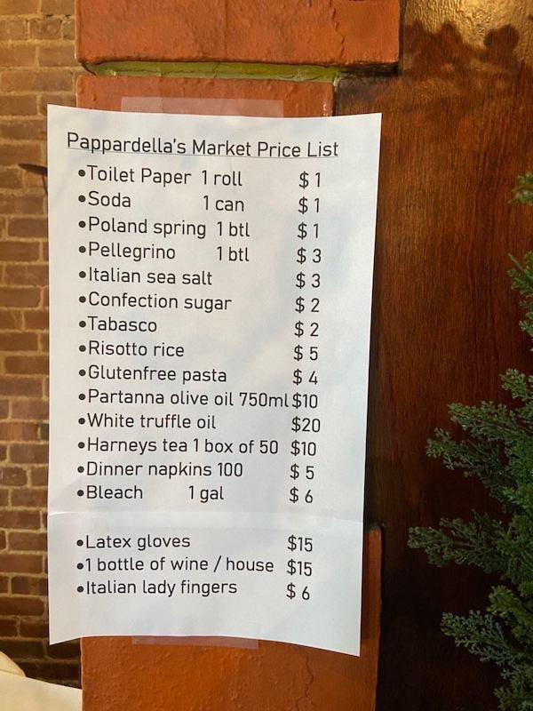 Pappardella Market
