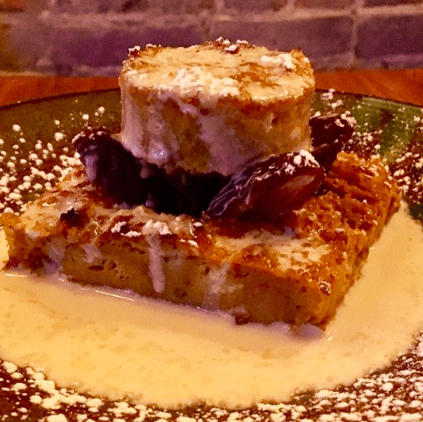 Pumpkin Bread Pudding with Whiskey Sauce