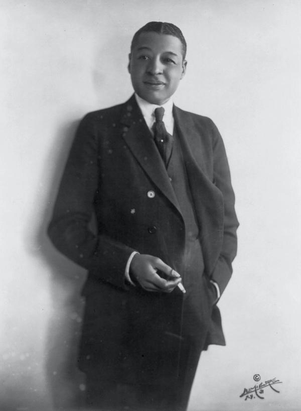 Vaudeville Star Bert Williams