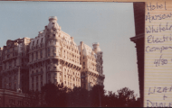 Ansonia Hotel 1980