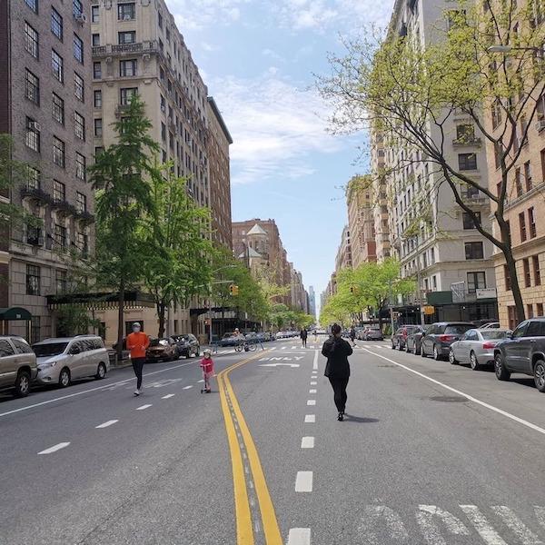 Pedestrianized UWS