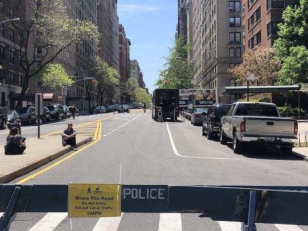 open streets new york