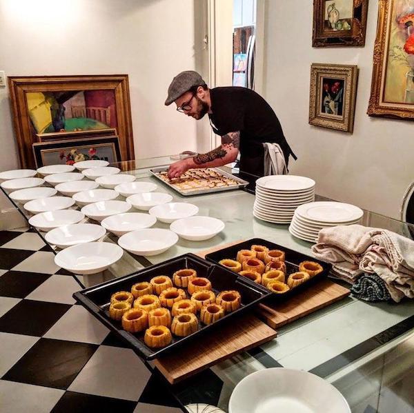 Chef Eliot Prepares