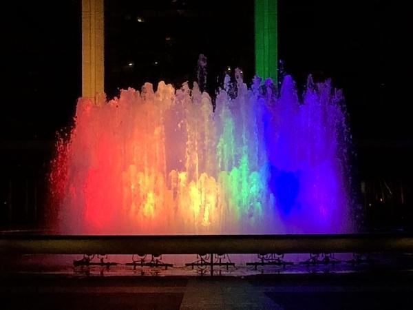 Lincoln Center Fountain Pride