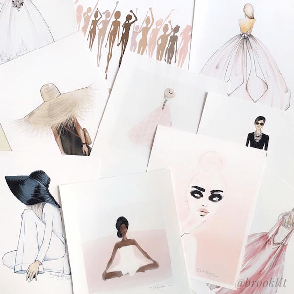 Brooke Hagel Sketches