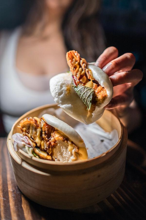 chicken bao buns
