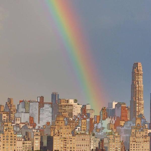 pixalated rainbow pic