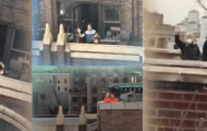 Upper West Sider Makes Friends with Neighbors Across the Street During 7pm Clap (VIDEO)