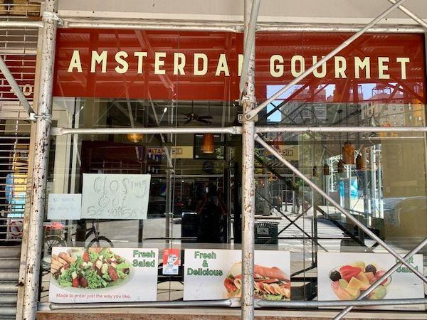 Amsterdam Gourmet Closing