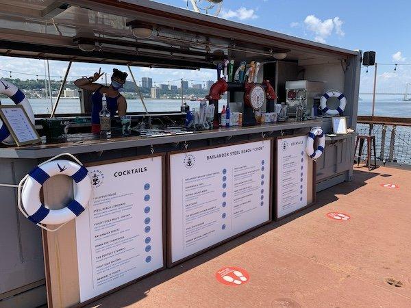 Baylander Boat Bar Harlem Piers
