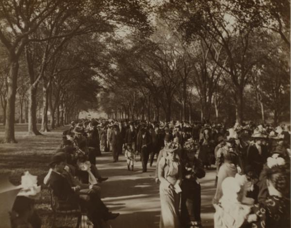 Central Park Mall 1892